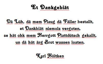 Karl Höltken - Et Dankgebiät