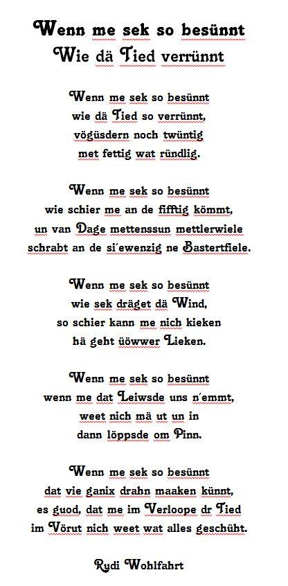 Rudi Wohlfahrt - Wenn me sek so besünnt